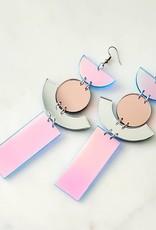 LDayDesigns Mirror Acrylic Earrings