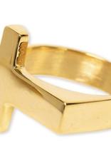 Bracha Signet Cross Ring