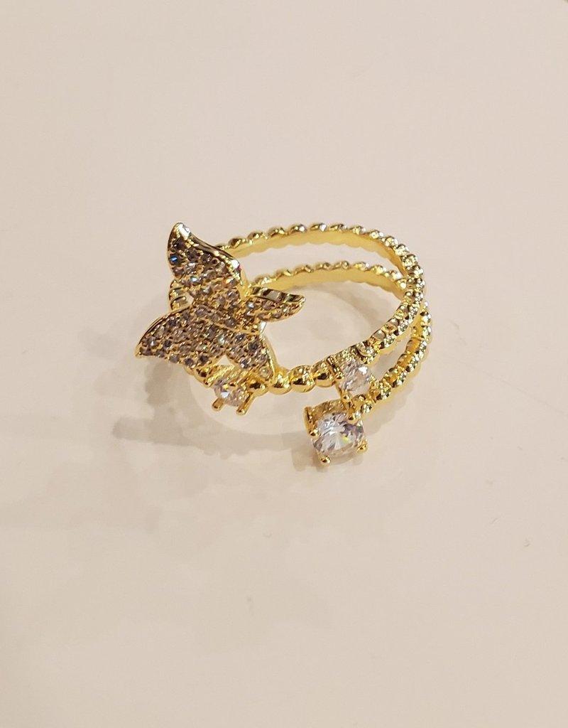 Bracha Butterfly Wrap Ring