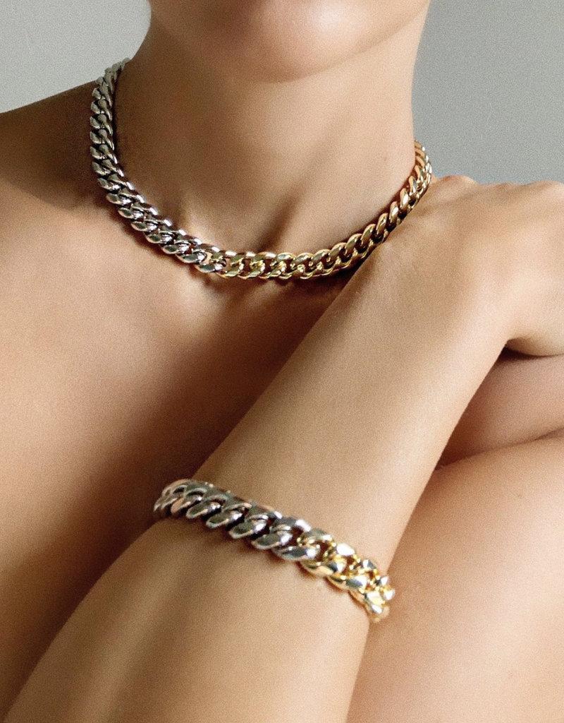 Bracha Peyton Two Tone Bracelet