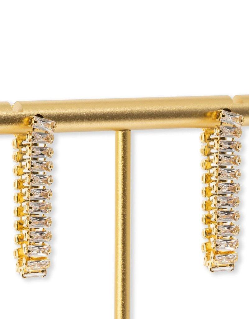 Bracha Ava Baguette Earring