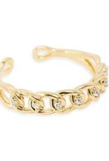 Bracha Lauren Thin Chain Ring