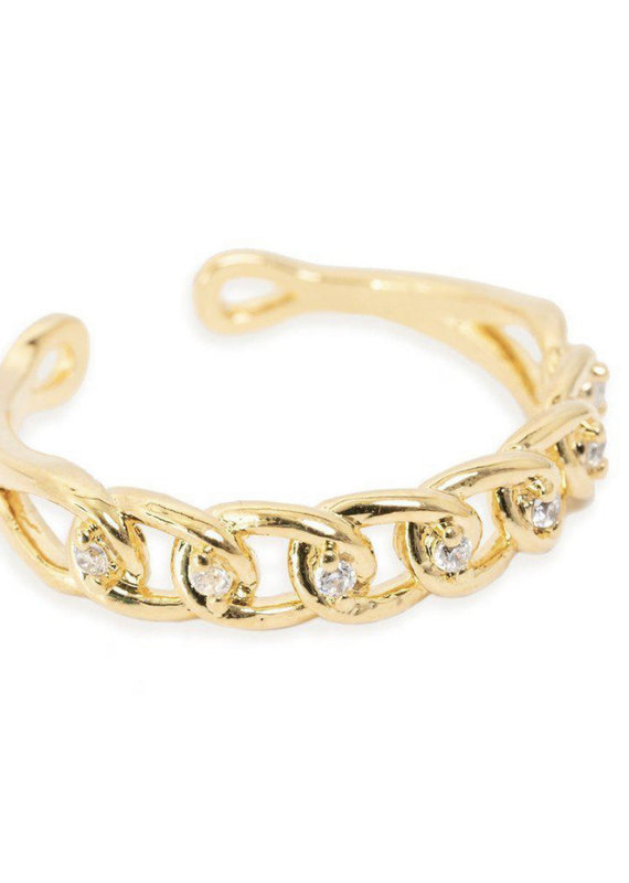 Bracha Lauren Thin Chain Ring