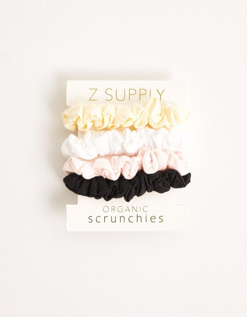 Organic Scrunchies- 4 pack