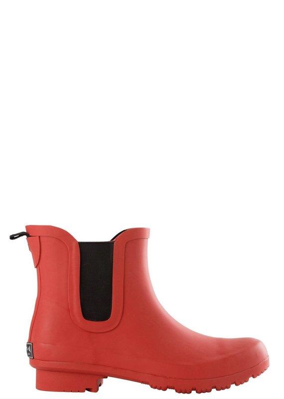 Roma Chelsea Red Rain Boots