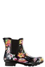 Roma Chelsea Floral Rain Boots