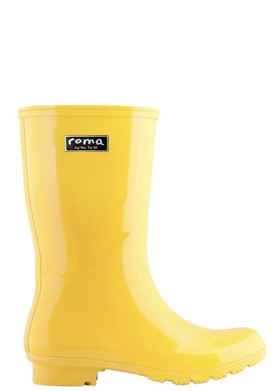 Roma Emma Yellow Rain Boots