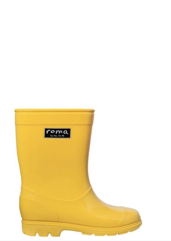 Roma Abel Yellow Rain Boots (Kids)