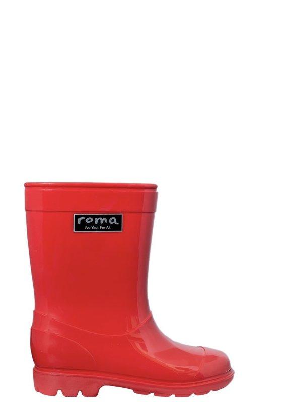 Roma Abel Red Rain Boots (Kids)