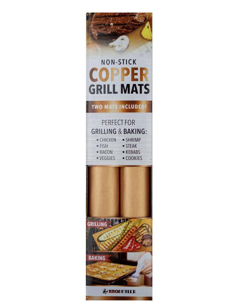 The BBQ Butler Copper Grill Mats