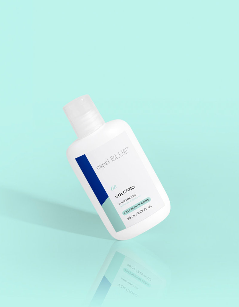 Curio Capri Blue Volcano Mini Hand Sanitizer