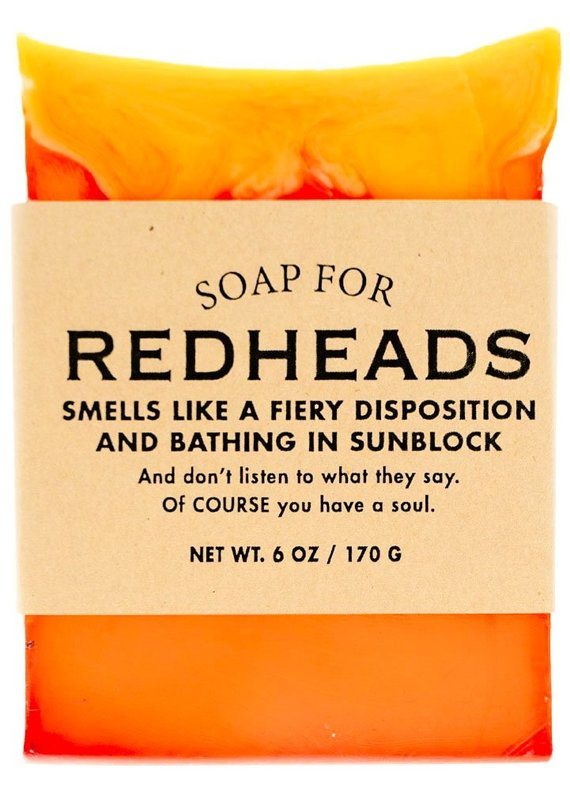 Whiskey River Soap CO. Redheads Soap