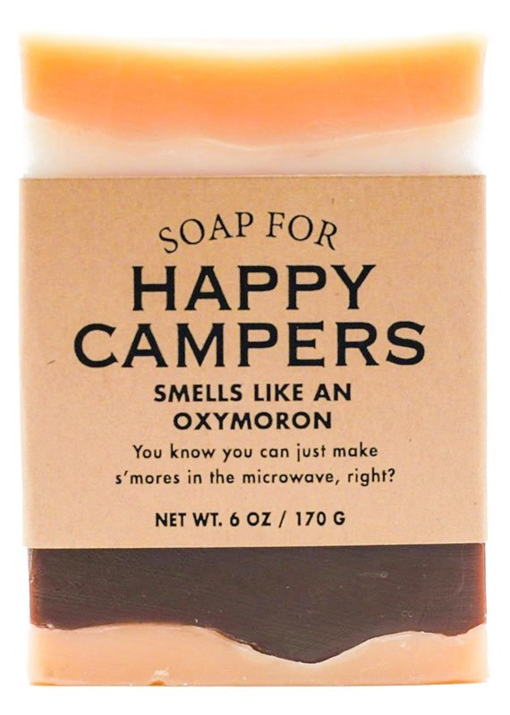 Whiskey River Soap CO. Happy Campers Soap