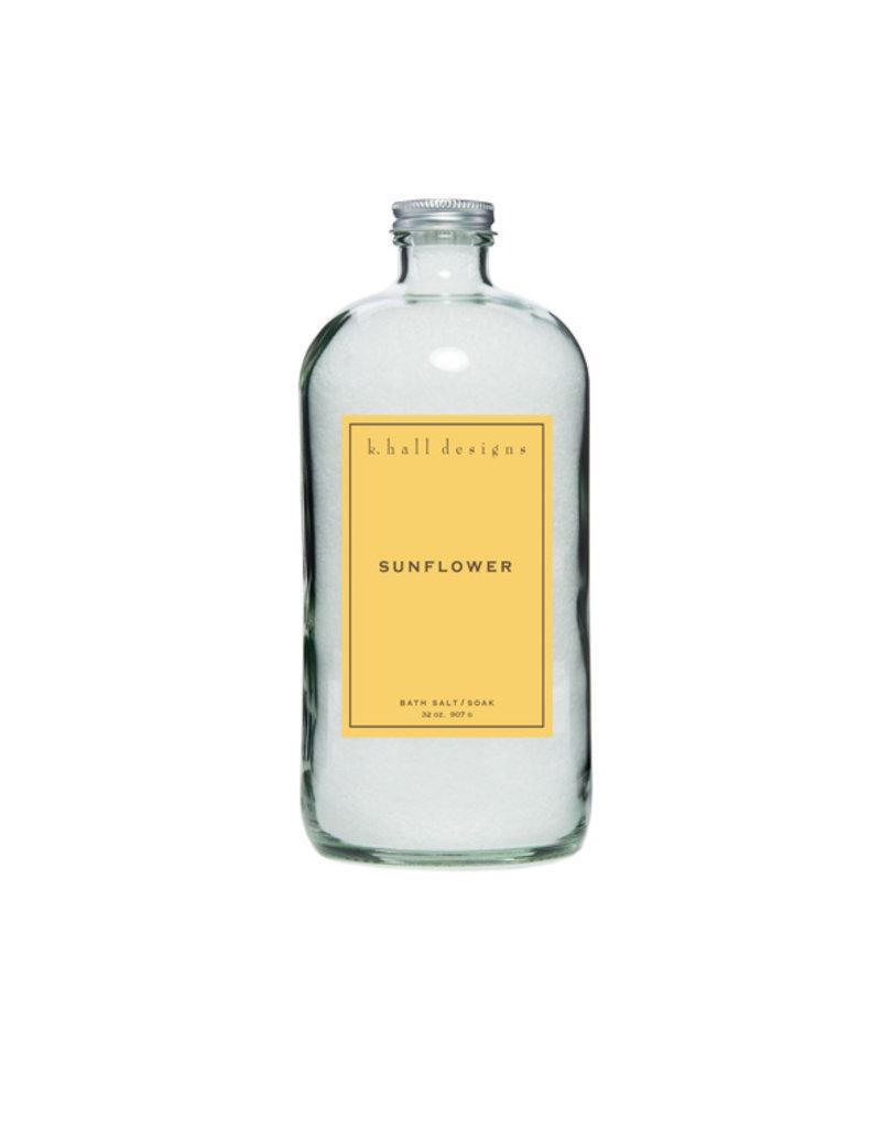 K. Hall Designs Sunflower Bath Soak