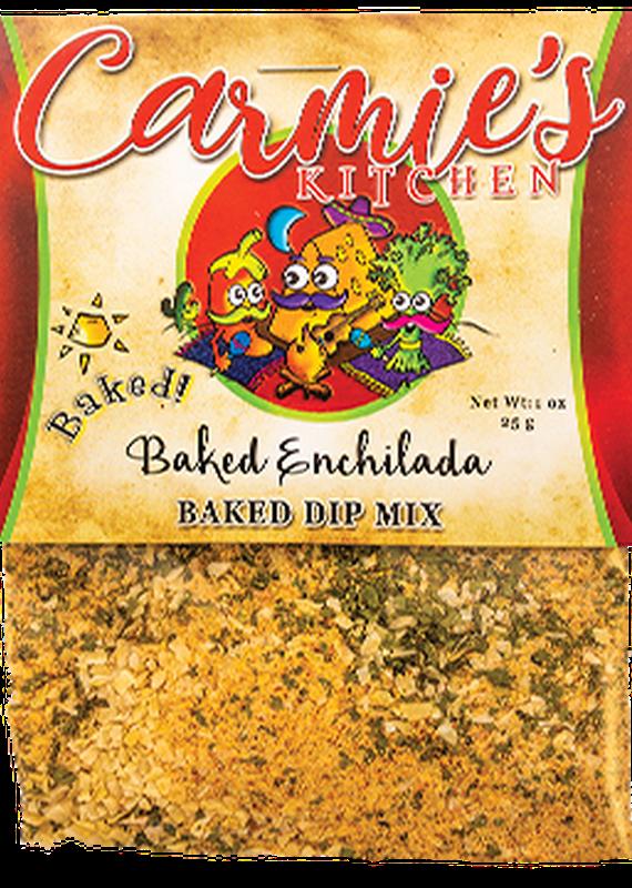 Carmie's Kitchen Baked Enchilada Dip