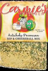 Carmie's Kitchen Artichoke Parmesan Dip