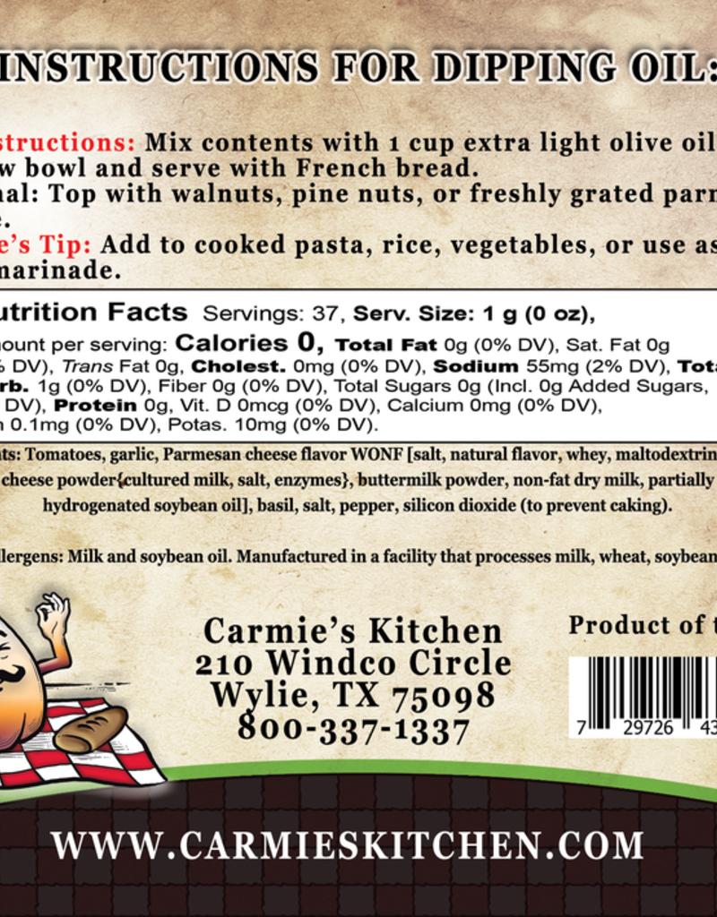 Carmie's Kitchen Basil Pesto Dipping Oil