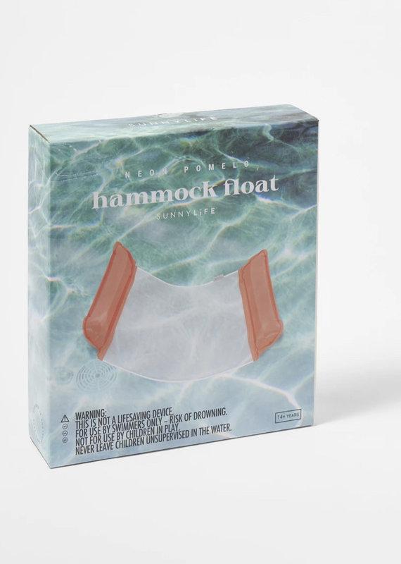 Sunny Life Hammock Float Neon