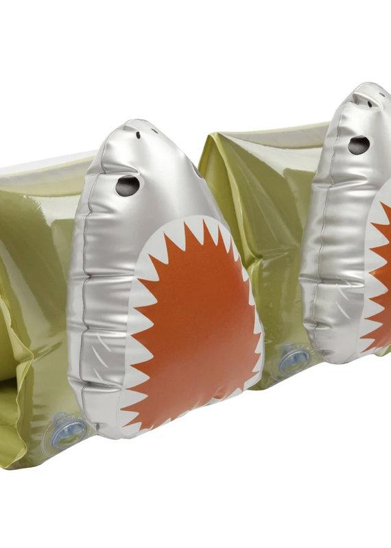 Sunny Life Buddy Float Bands- Shark Attack