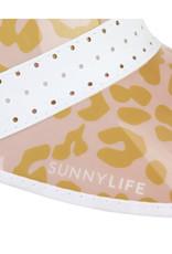 Sunny Life Retro Visor- Pinky Peach