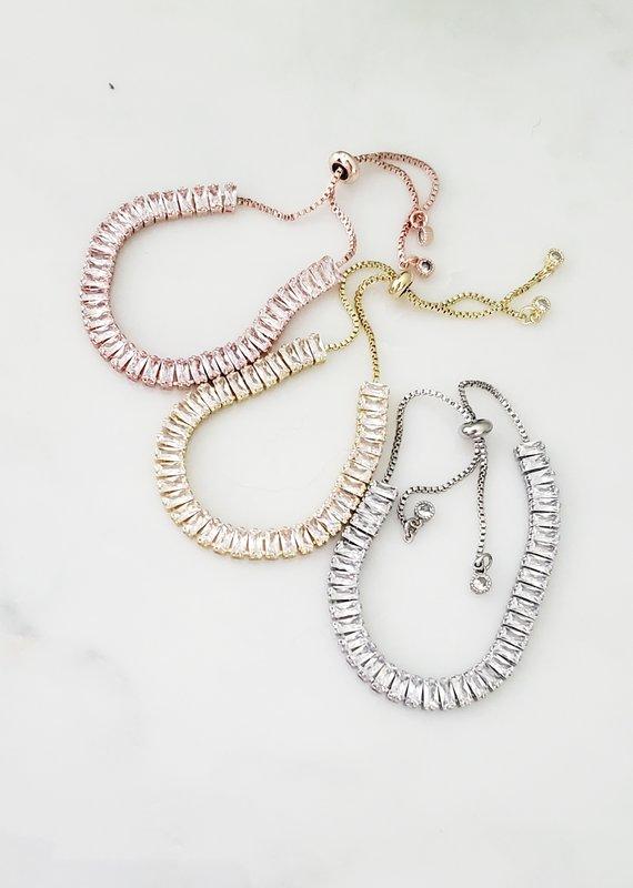 LDayDesigns Baguette Tennis Bracelet