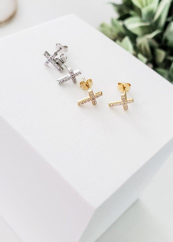 LUX Sterling Twinkle Crosses
