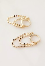 LUX Sterling & 18k Chained Ear Hug