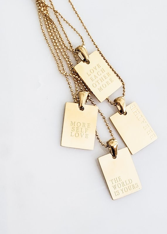 LUX Speak Necklace