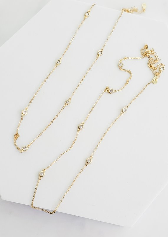 LUX Crystal Bubbles Necklace