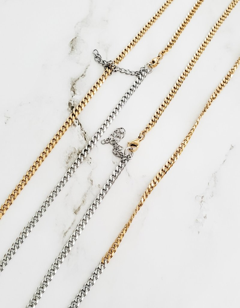 LUX Two-Tone Curb Chain