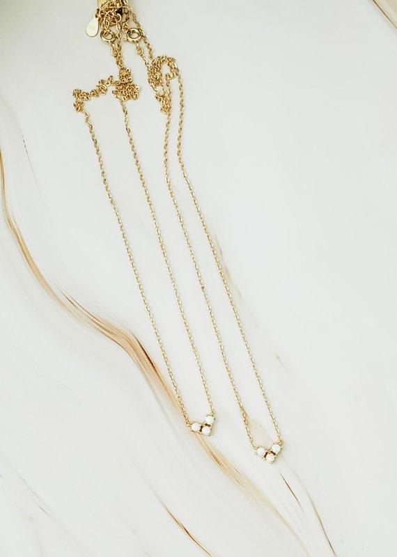 LUX Fiery Opal Necklace