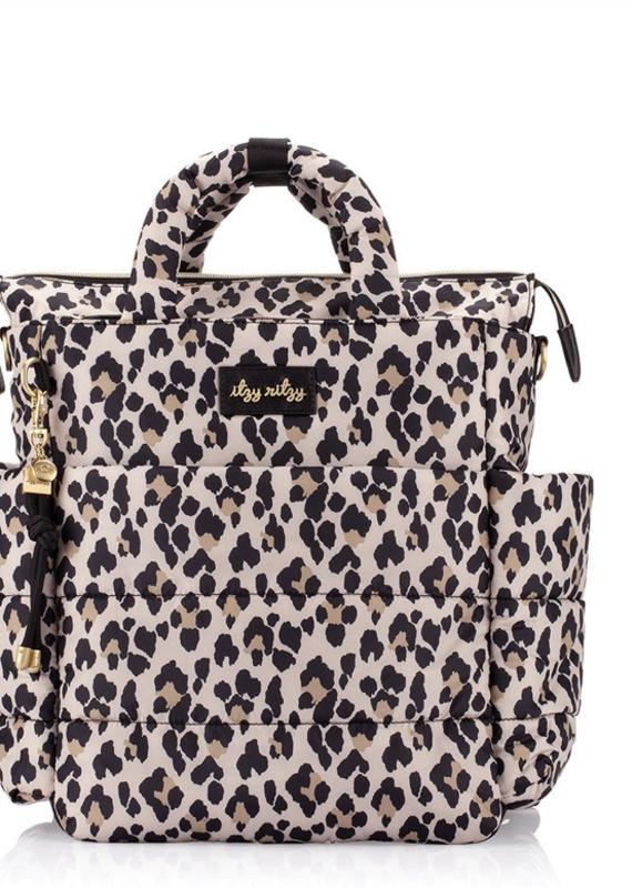 Itzy Ritzy Leopard Dream Convertible Diaper Bag
