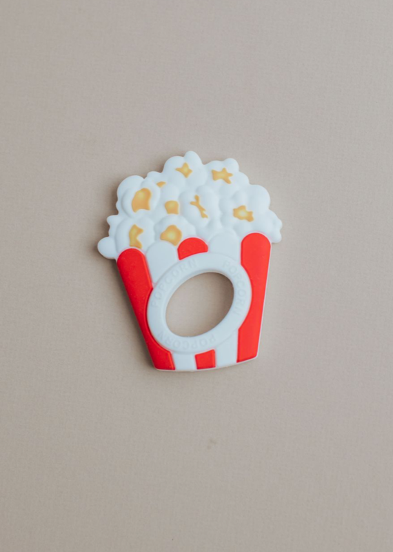 Three Hearts Modern Teething Accessories Popcorn Silicone Teether