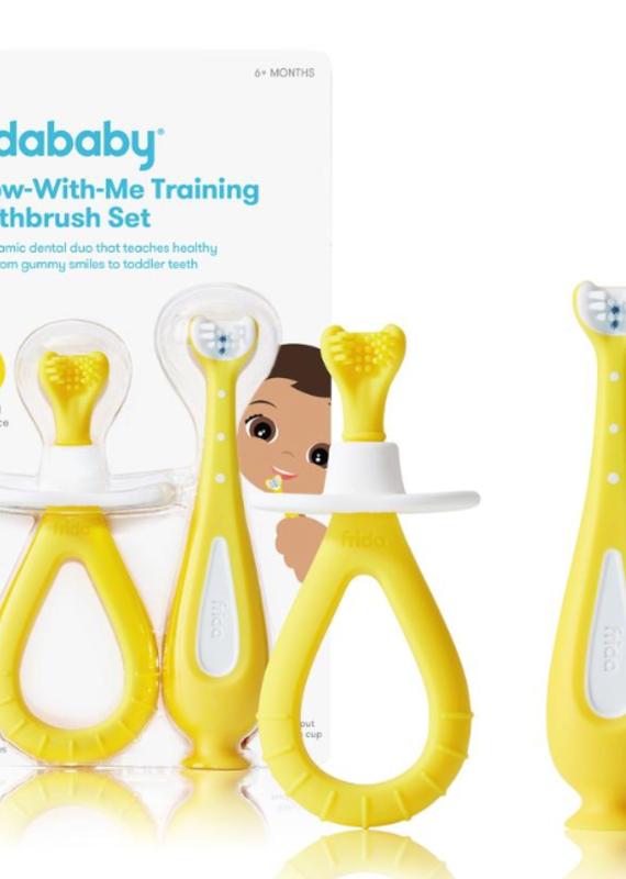 Frida Baby Training Toothbrush Set