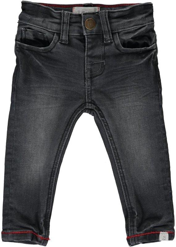 Me & Henry Mark Denim Jeans-Charcoal