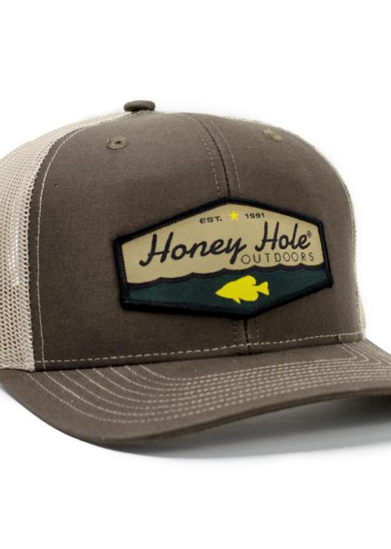 Honey Hole Yellow Fish Hat