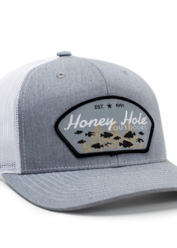 Honey Hole Crappie Arch Hat