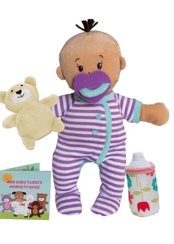 Manhattan Toy Baby Stella Beige Sleep Time