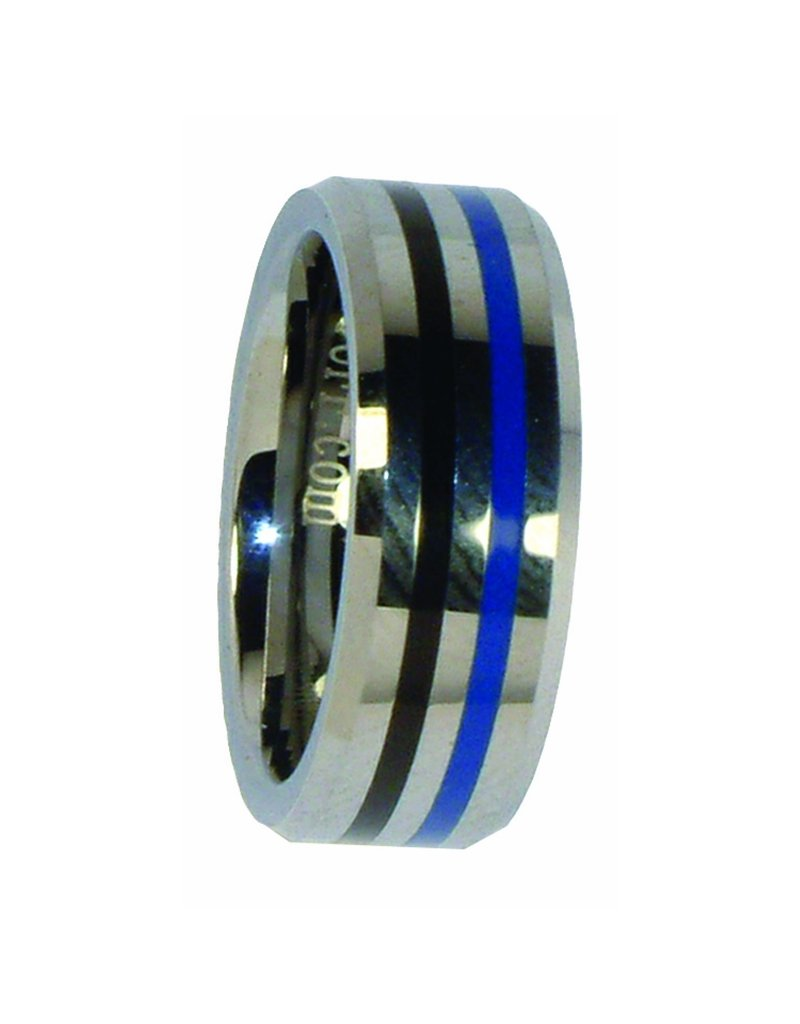 Blue/Black Ring