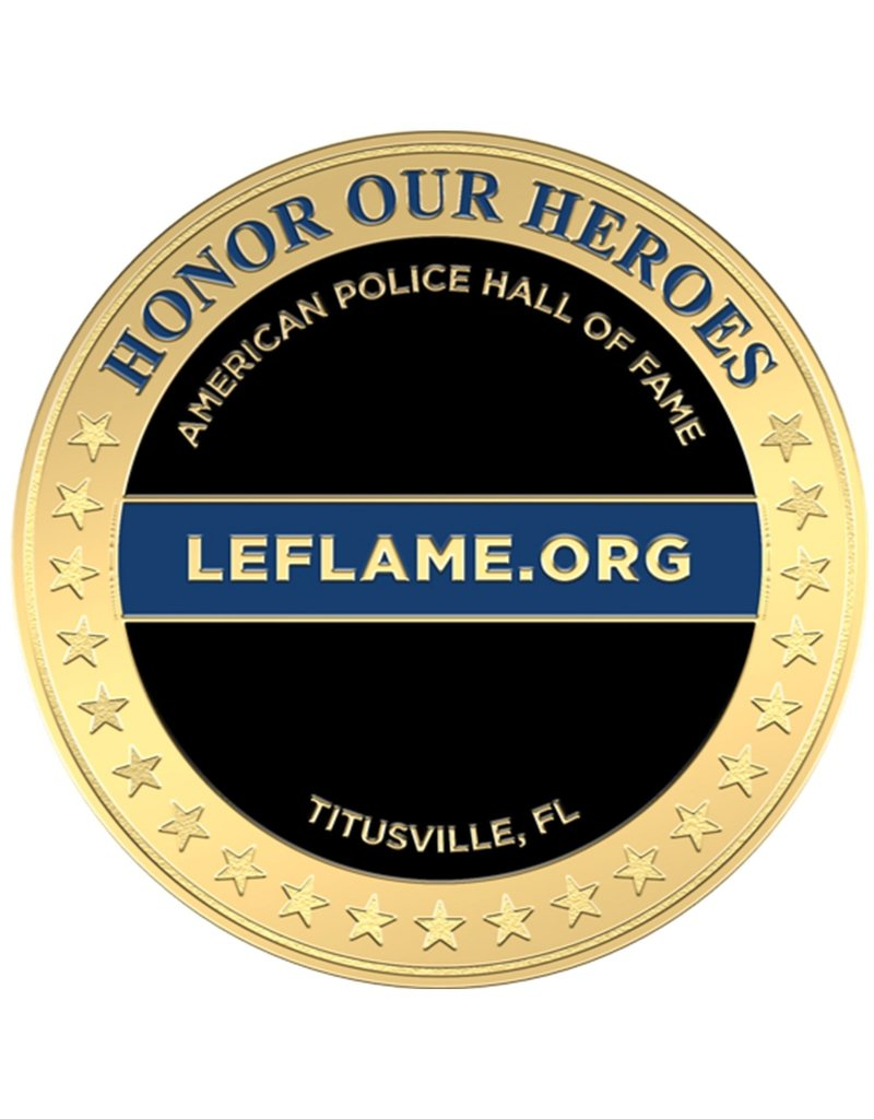LE Eternal Flame Challenge Coin