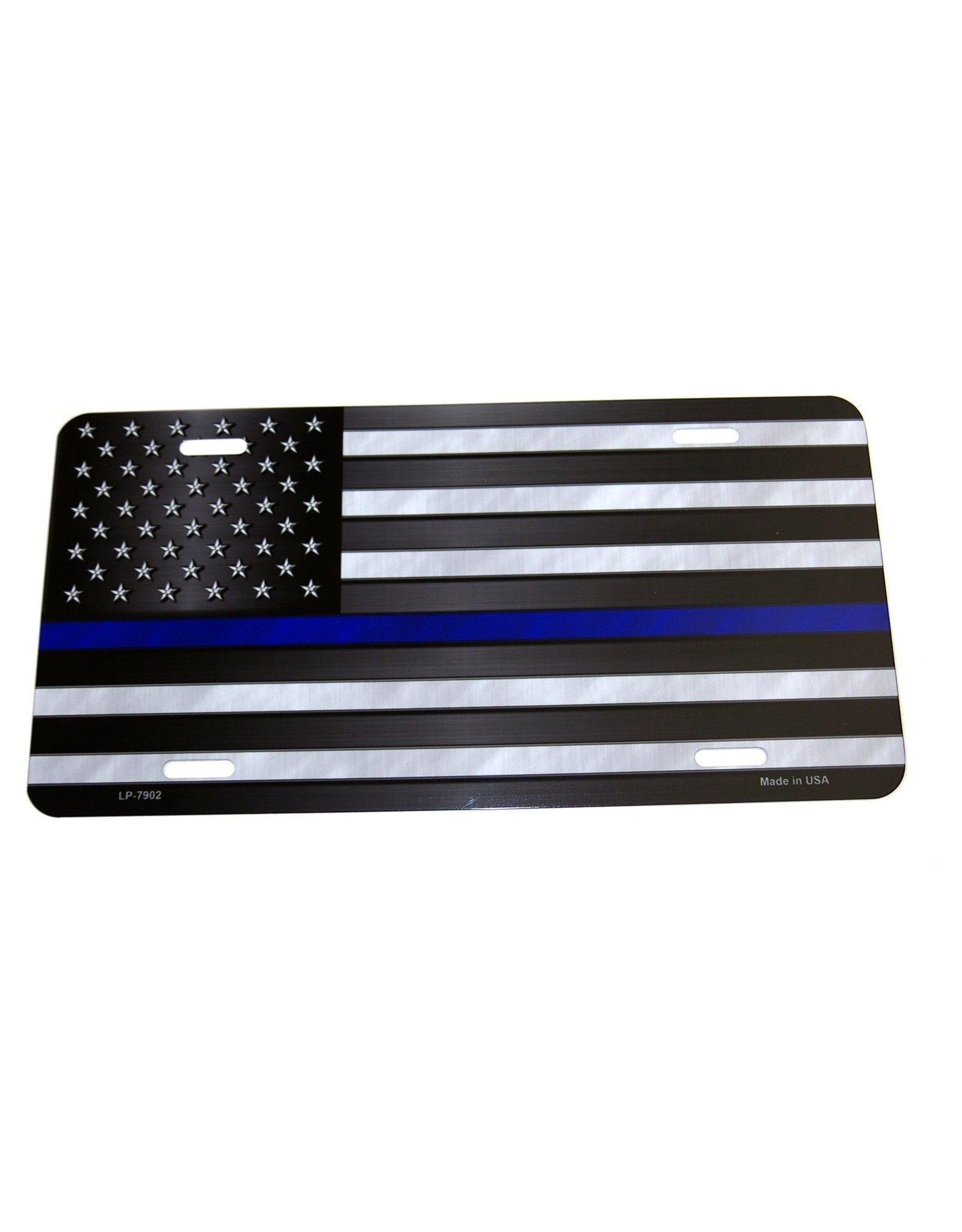 Patriotic Blue Line Tag