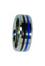 Blue Line Ring