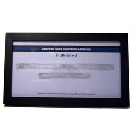 Memorial Etching Frame