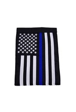 Patriotic Blue Line Garden Flag