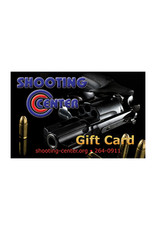 Shooting Center Gift Cards