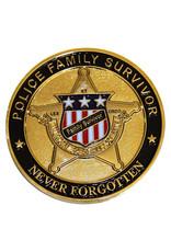Family Survivor Challenge Coin
