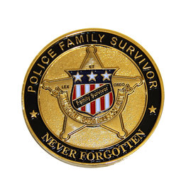 Family Survivor Challenge Coin