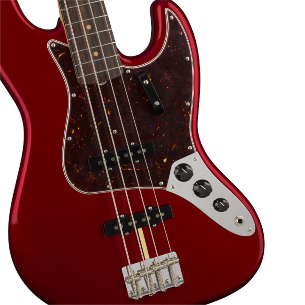 Fender Fender American Original 60's Jazz Bass RW Candy Apple Red
