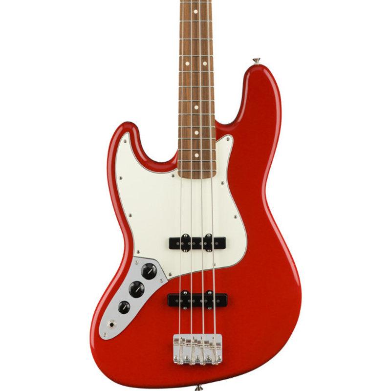 Fender Fender Player Jazz Bass PF - Sonic Red Lefty