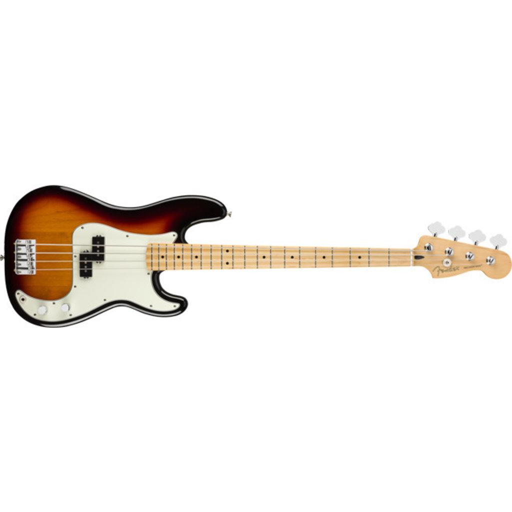 Fender Fender Player Precision Bass MN - 3-Tone Sunburst